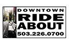 Downtown RideAbout logo